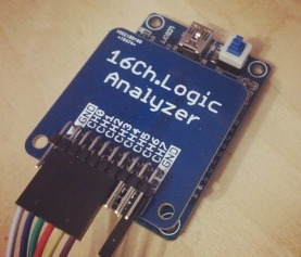 ¡Finally! 16ch.logic analyzer boards are here!